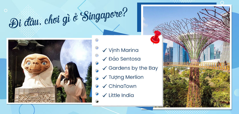 Du lịch Singapore nên đi đâu