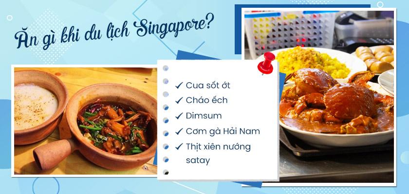 Những món ăn ngon tại Singapore