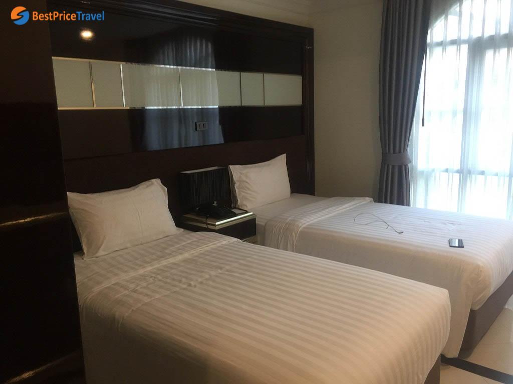Khách sạn mình ở tại Pattaya - Thái Lan