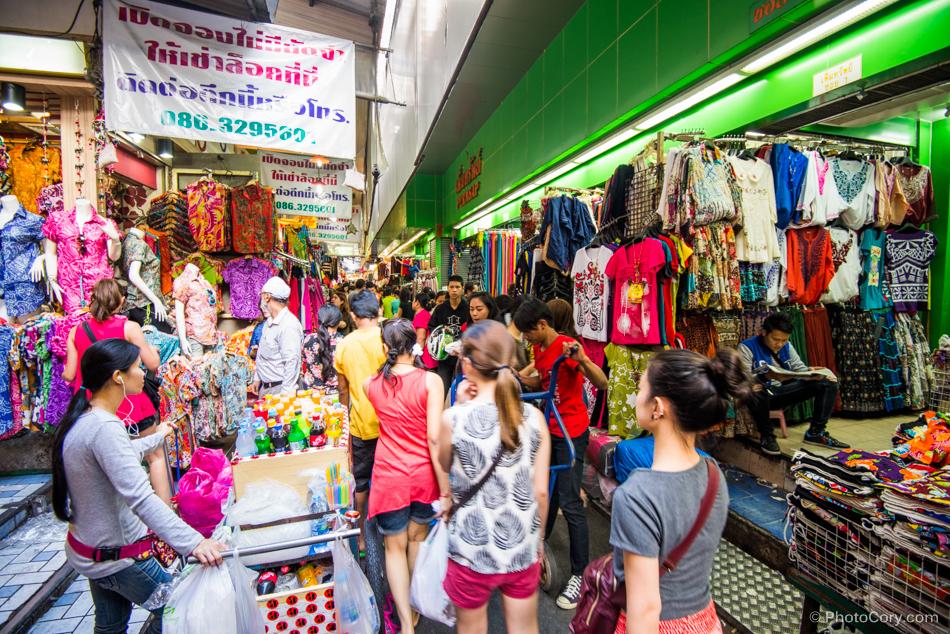 Chợ ở Thái Lan
