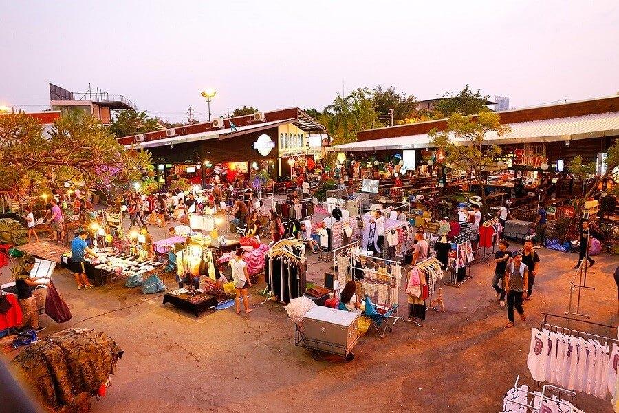 Chợ cuối tuần Chatuchak Thái Lan