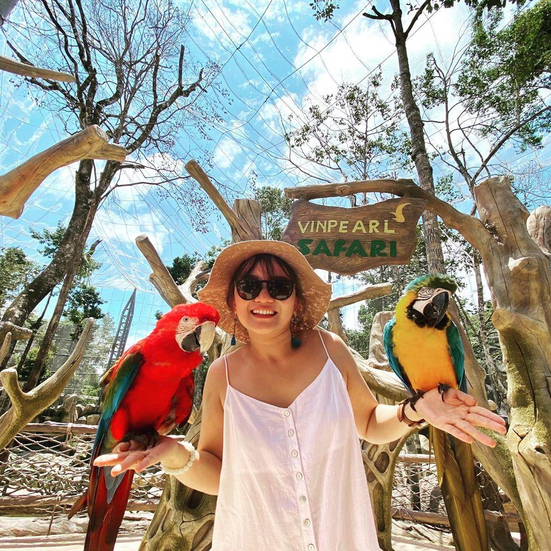 Check in tại Vinpearl Safari Phú Quốc