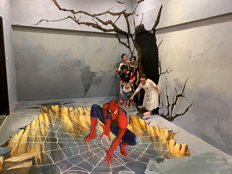 Khu vườn cổ tích 3D sống động dành cho các bạn nhỏ
