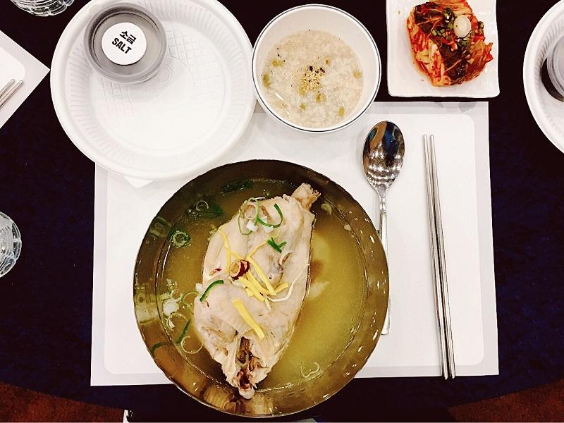 Samyetang – món gà hầm sâm nổi tiếng