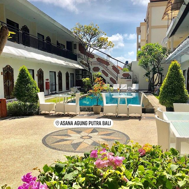 Một góc khách sạn ở Bali
