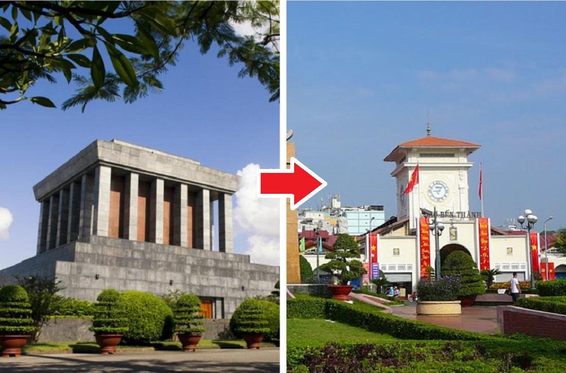 Chặng bay từ Hà Nội tới Hồ Chí Minh
