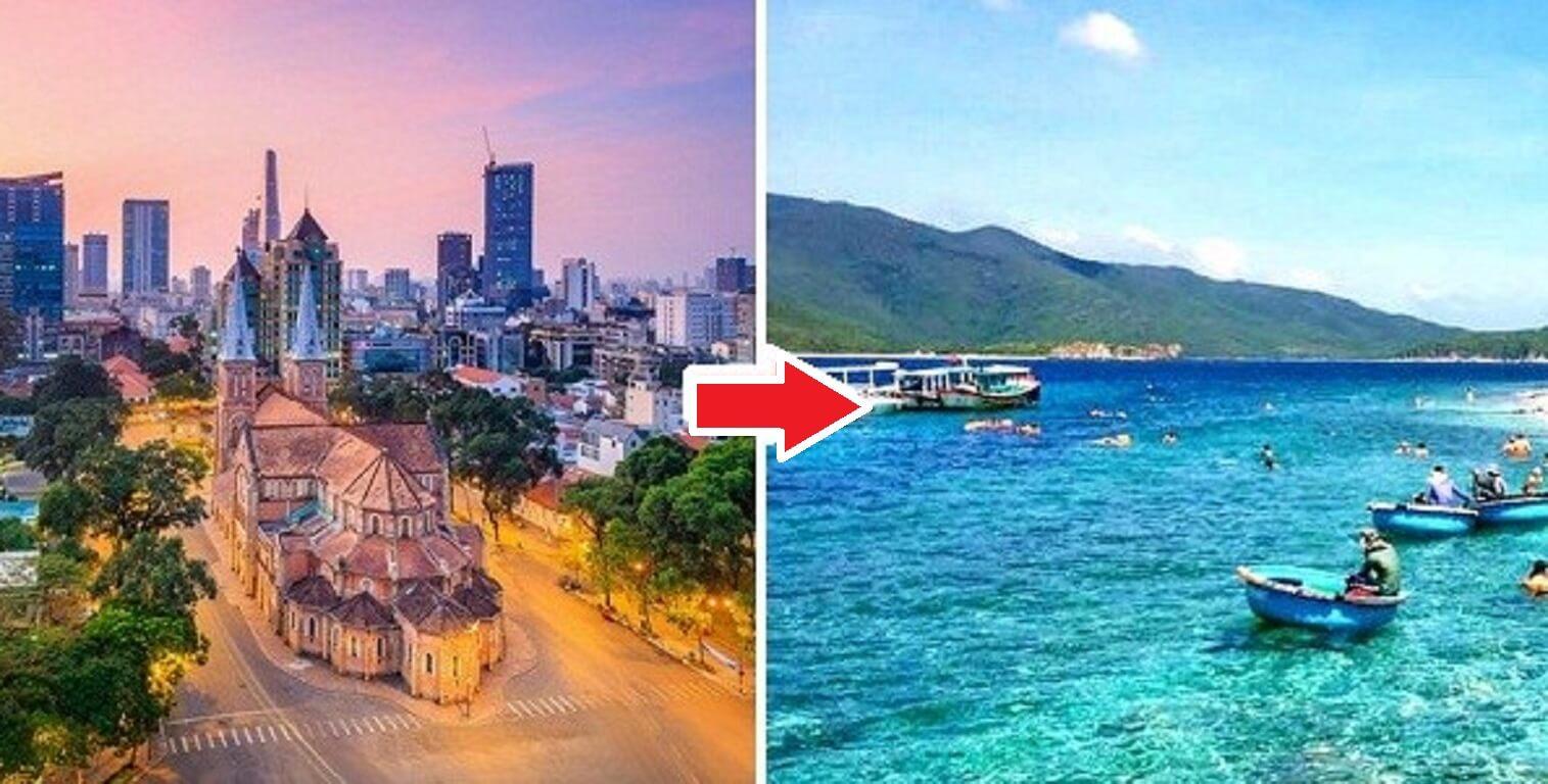 Vé máy bay từ Hồ Chí Minh đến Nha Trang