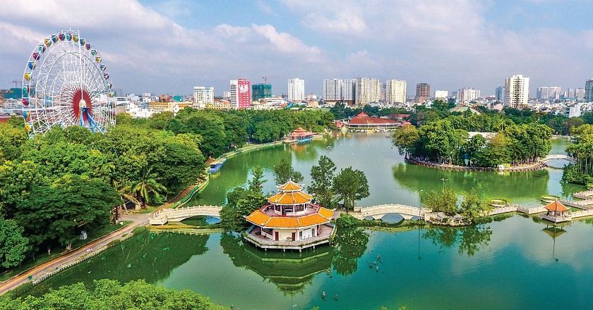 Công viên Văn hóa Đầm Sen - một trong những khu du lịch ở thành phố Hồ Chí Minh cực hot