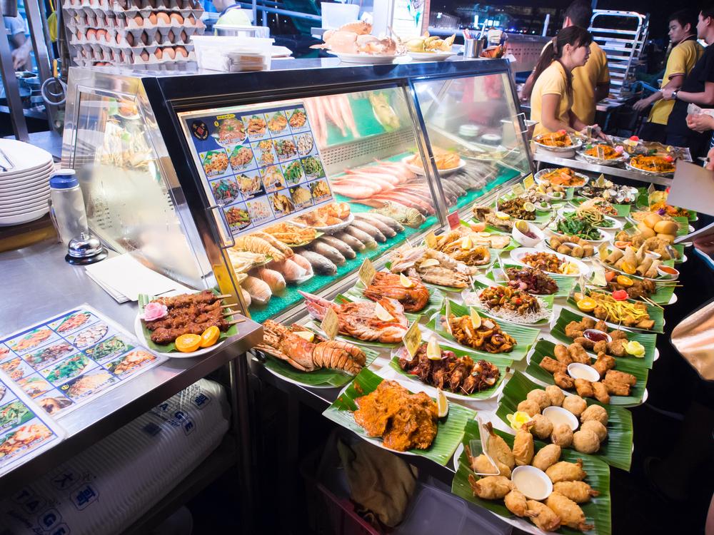 Trung tâm ẩm thực ở Singapore