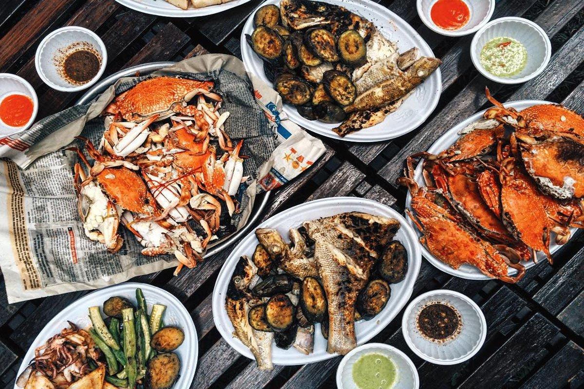 Nhà hàng hải sản Vị Cua nổi tiếng Quy Nhơn