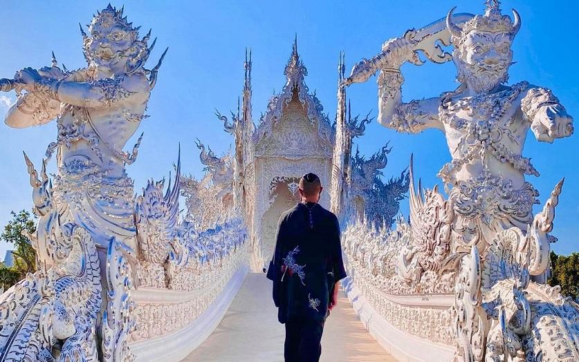 Chùa Trắng tại Chiang Rai