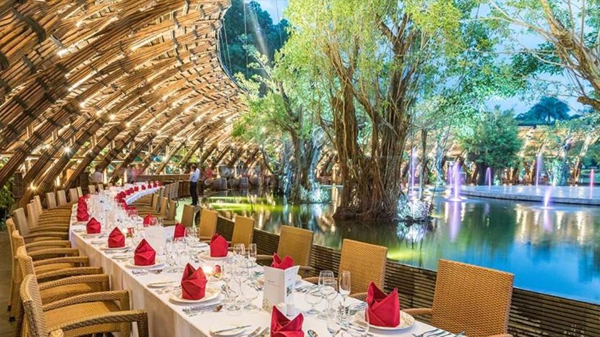 Nhà hàng tại resort Đại Lải