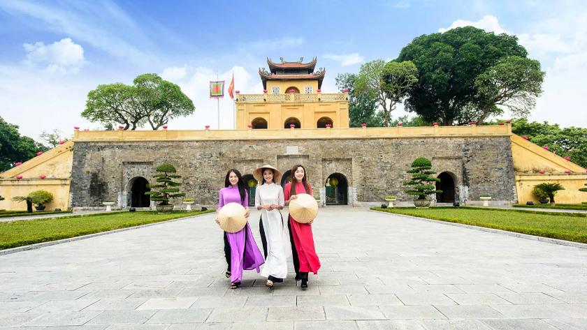 Check in tại Hoàng Thành Thăng Long