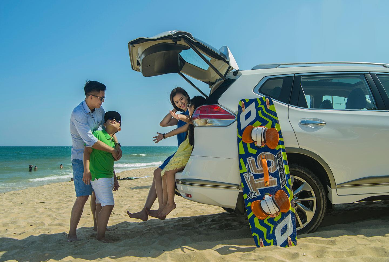Du lịch Quy Nhơn có trẻ nhỏ nên sử dụng xe riêng hoặc taxi để di chuyển