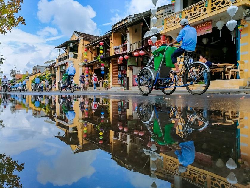 Hội An sau cơn mưa
