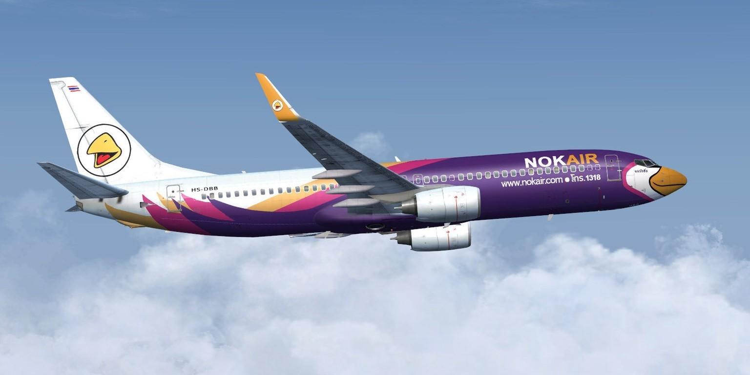 Nok Air là một trong những hãng bay nội địa Thái Lan khai thác chuyến bay đến Pattaya