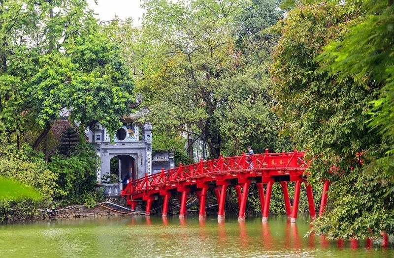 Hồ Gươm (hồ Hoàn Kiếm) Hà Nội