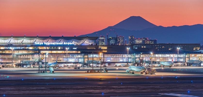 Sân bay quốc tế Haneda, Nhật Bản