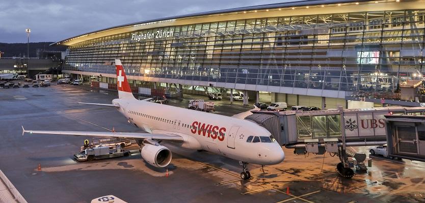 Sân bay quốc tế Zurich, Thụy Sĩ