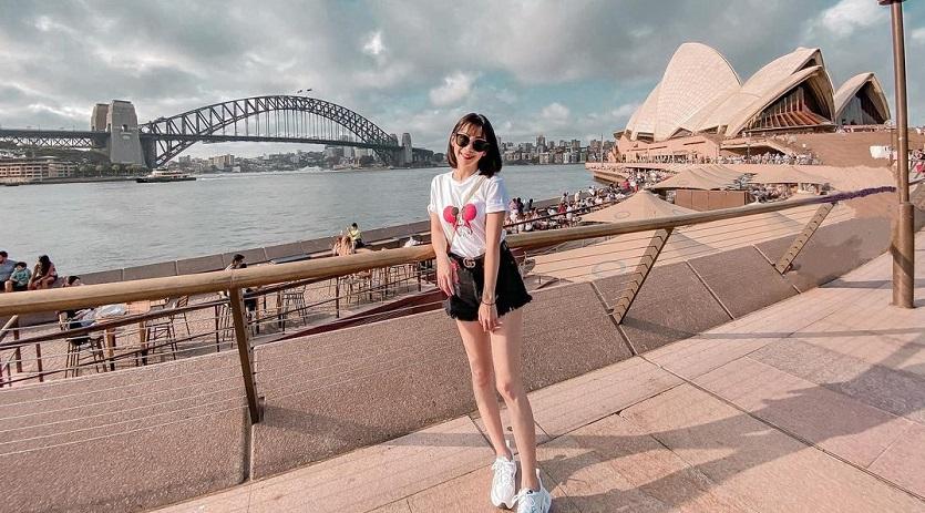 Check-in ở Sydney, Úc