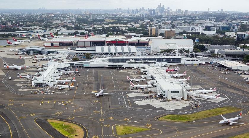 Sân bay Kingsford Smith, Úc