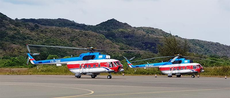 Trực thăng đi Côn Đảo