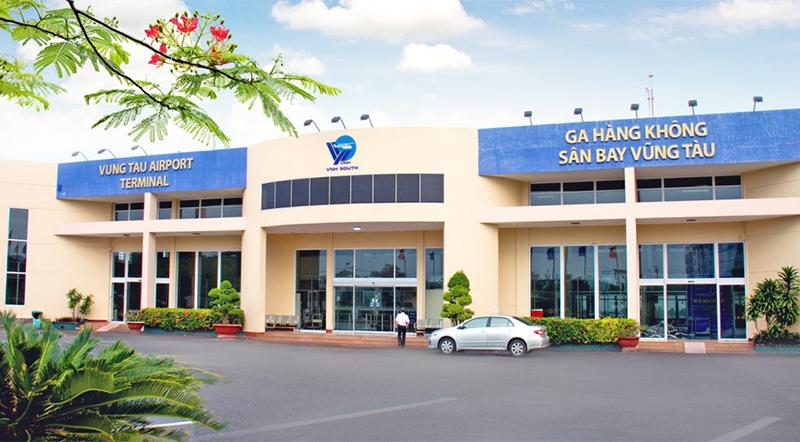 Hành khách có thể mua vé trực thăng đi Côn Đảo ngay tại sân bay Vũng Tàu