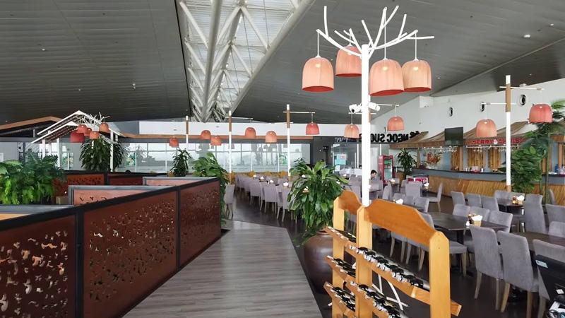 Không gian tại nhà hàng Ngọc Sương Marina