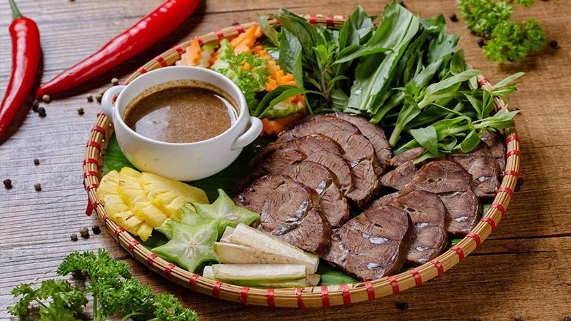 Món ngon tại Nhà hàng Vườn Dừa