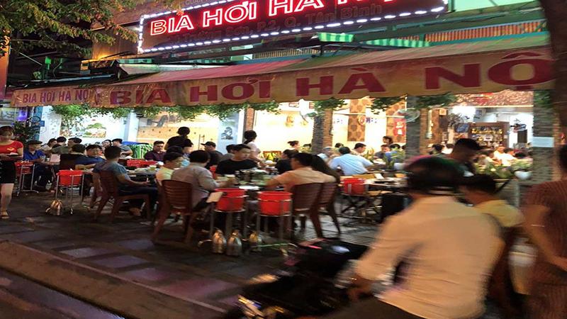 Quán bia hơi Hà Nội Bắc Việt