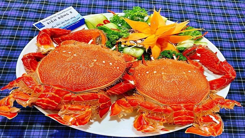 Hải sản chất lượng tại nhà hàng Biển Đông B