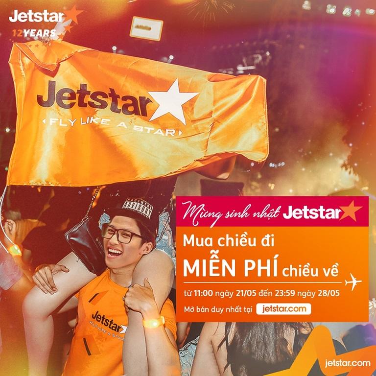 Chương trình khuyến mại vé 0 đồng của Jetstar