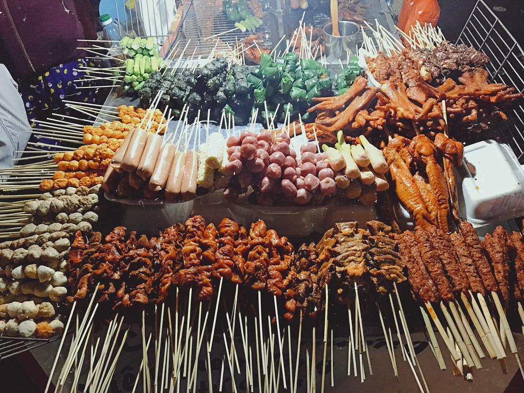 Phố ẩm thực và đồ nướng Quy Nhơn
