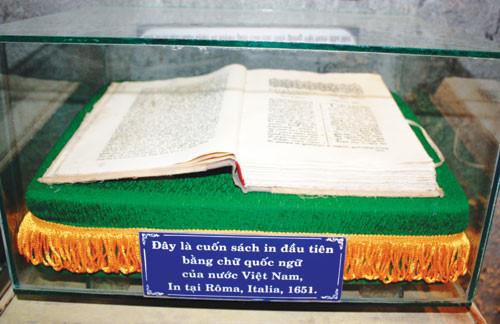 Cuốn sách viết bằng chữ quốc ngữ đầu tiên của Việt Nam