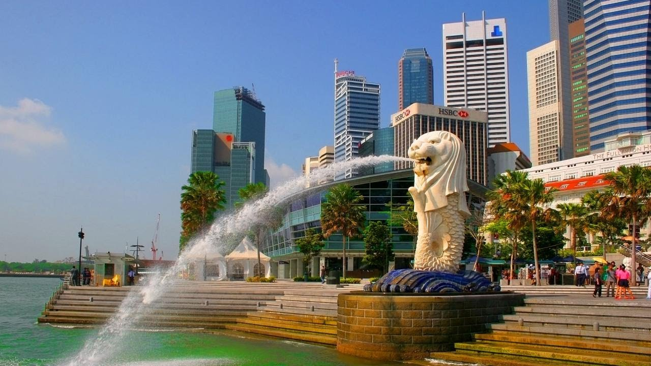 Cảnh đep tại Singapore