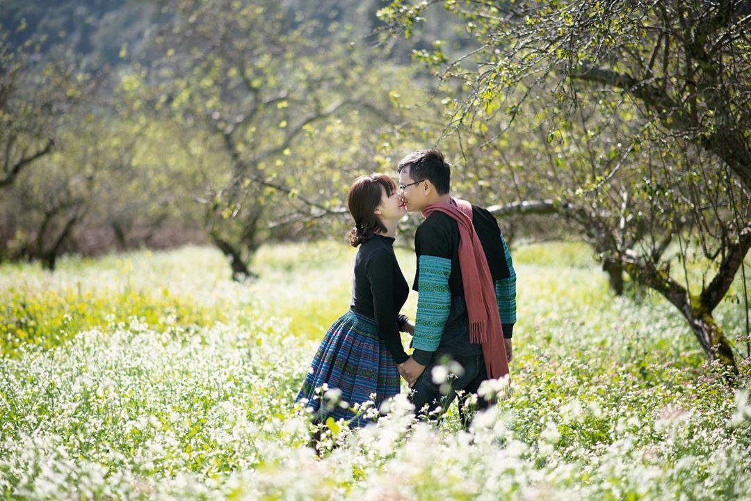 Mộc Châu đẹp nao lòng là một trong những địa điểm du lịch cho cặp đôi gần Hà Nội