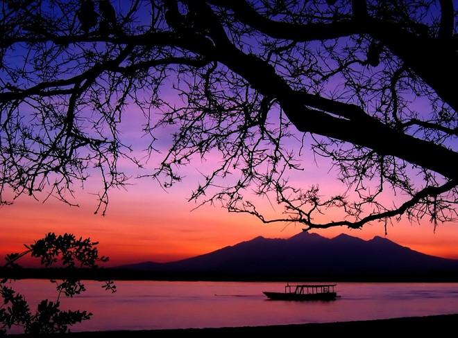 Hoàng hôn trên đảo Gili