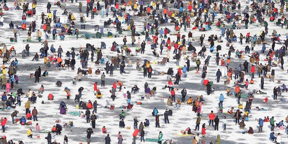 Lễ hội đánh bắt cá ở Pyeongchang