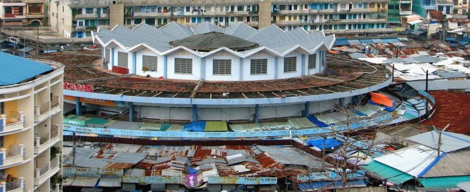 Chợ Đầm nhìn từ trên cao