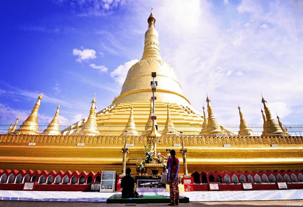 Đây là ngôi chùa cao nhất ở Myanmar với chiều cao lên tới 114 mét và có tuổi thọ hơn 1000 tuổi.
