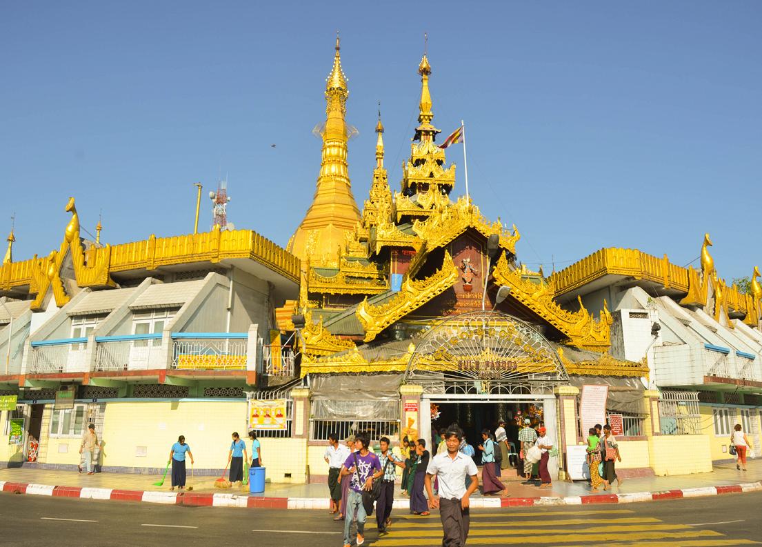 Là một trong những ngôi chùa nổi tiếng ở Myanmar và từng là trung tâm kinh tế chính trị của đất nước vào năm 1988.
