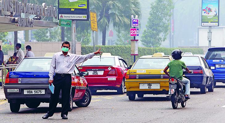 Ở Malaysia, Taxi rất đa dạng
