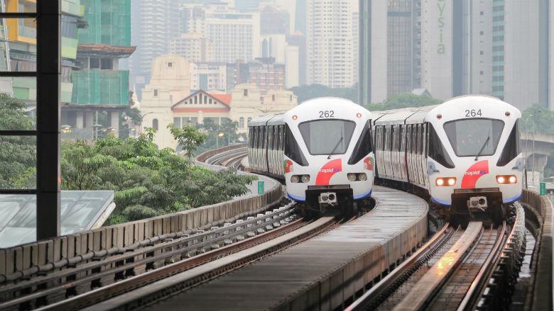 Tàu điện trên cao (LRT)