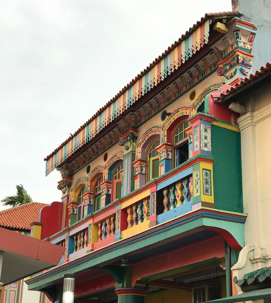 Những ngôi nhà ở khu Tiểu Ấn