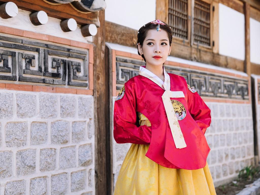 Mặc Hanbok