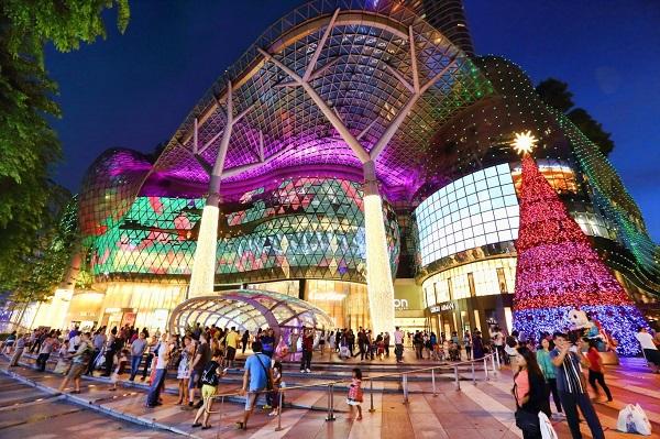Orchard Road nhộn nhịp mùa giáng sinh