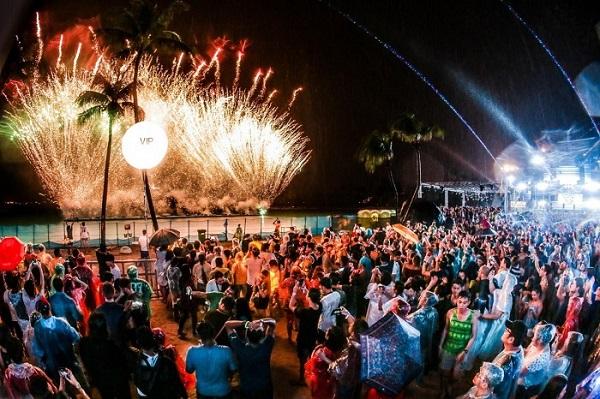 Sự kiện Siloso Beach Countdown