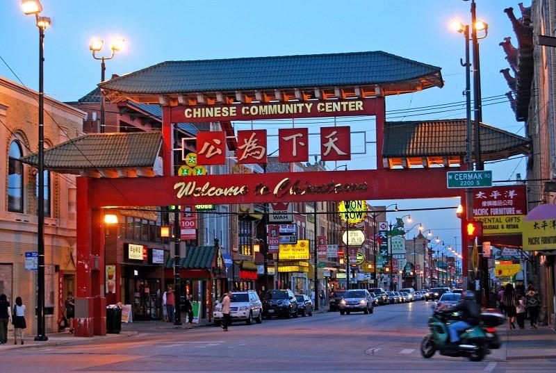 Phố người Hoa China Town tại Thái Lan