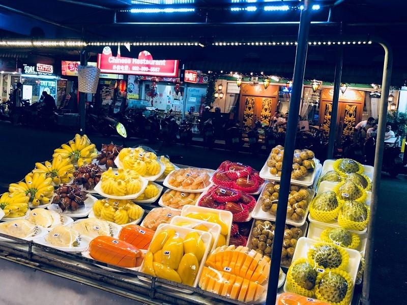 Có đủ các loại trái cây nổi tiếng của Thái Lan