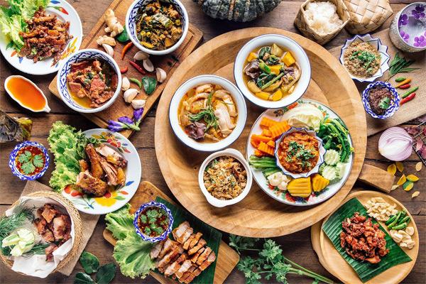 Ẩm thực Thái Lan luôn phong phú và đa dạng